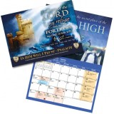 """In Him I Will Trust"" Scripture Art Calendar"