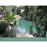 Jordan River Scripture Greeting Card from Israel