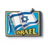 3D COLORFUL MAGNET- Israel Flag