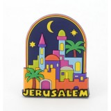 3D COLORFUL MAGNET-  Jerusalem