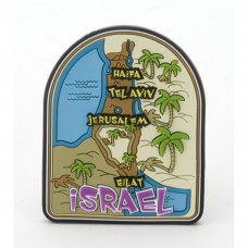 3D COLORFUL MAGNET - MAP of ISRAEL