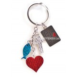 Holy Land Dangle Key Chain - Christian