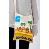 Jerusalem Colorful Camels Tote Bag