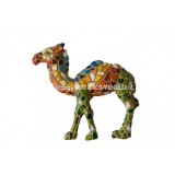 Mosaic Standing Camel Magnet