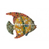 Mosaic Tropical Fish Magnet