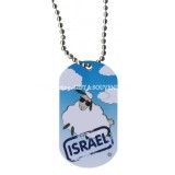 Dog Tag Necklace - Israel Sheep