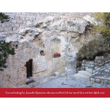 Garden Tomb Scripture Greeting Card from Israel